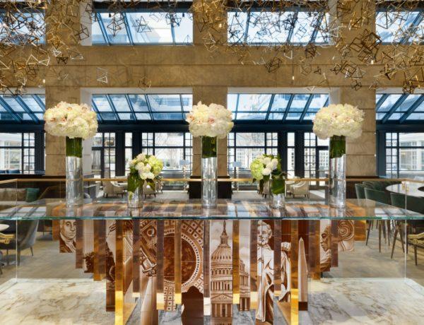 hotel lobby design Editor's Choice: Hottest Hotel Lobby Design 2017 fairmont hotefeatureimage 600x460