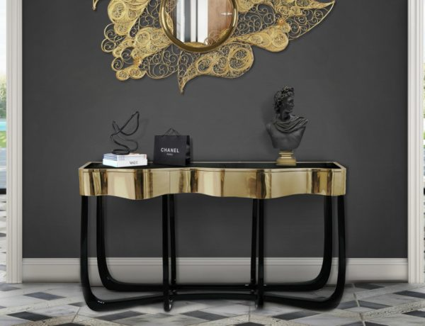 modern console tables Best Modern Console Tables Design for your Luxury Home Best Modern Console Tables Design for your Luxury Home Featured 600x460