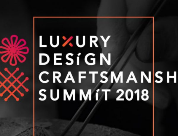 craftsmanship Luxury Design & Craftsmanship Summit 2018: What You Have To Know featured consoles 600x460