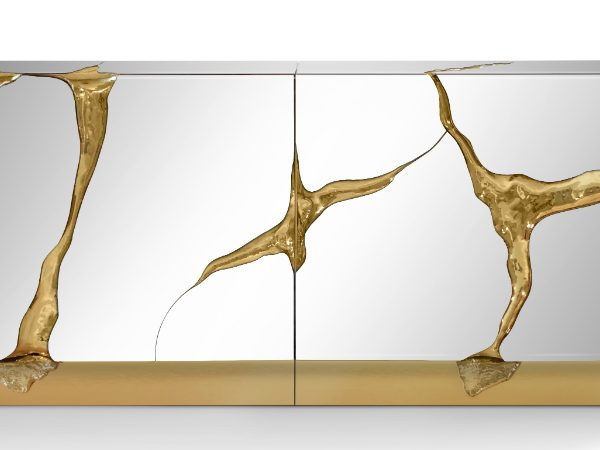 mirrored console tables Mirrored Console Tables And Sideboards You'll Love Lapiaz Sideboard by Boca Do Lobo featured 600x450