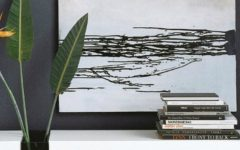 wall painting Outstanding Wall Painting Ideas To Stand Above A Console Table Outstanding Wall Painting Ideas To Stand Above A Console Table 8 240x150