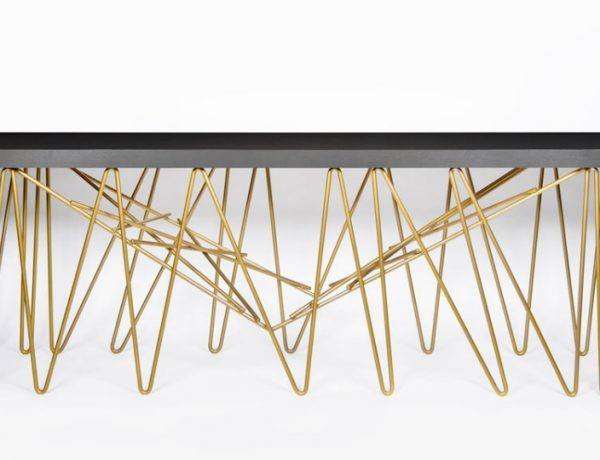 Modern console table Chaos Modern Console Table By Consentino and Daniel Germani ffffffffffffffffffffffffffffff 600x460