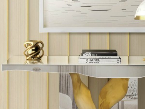 mirrored console tables Mirrored Console Tables: The latest trends zfeatured 9 600x451