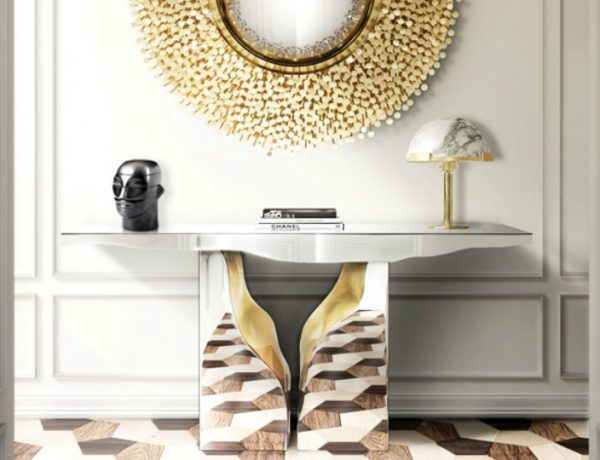 modern console tables Living Rooms with Luxury Modern Console Tables by Boca do Lobo lapiaza onsjnf 600x460