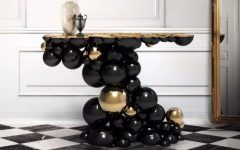 Luxury Black Console Tables Luxury Black Console Tables for a Modern Interior Design Luxury Black Console Tables For a Modern Interior Design featured 240x150