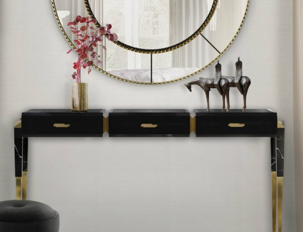 console table Discover The Most Supreme Console Table Trends For 2019 featured 3 600x460