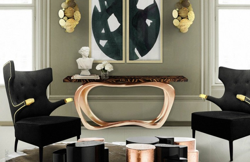 Modern Console Tables Modern Console Tables for a Contemporary Interior Design 1 4