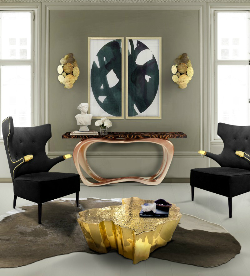 modern console tables, interior space, living space, contemporary furniture, interior design, home décor, luxury brand, console table, design ideas console table 10 Console Table Ideas That Will Add Prestige To Your Living Room 10 Console Table Ideas That Will Add Prestige To Your Living Room 8