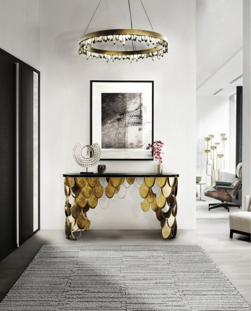 modern console tables 10 Astonishing Modern Console Tables Designs 6