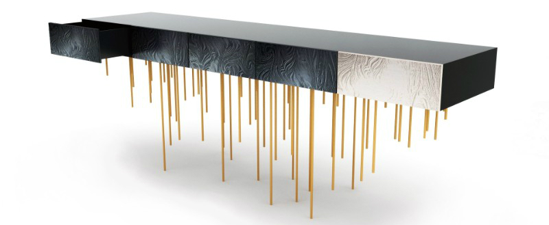 modern console tables, interior space, contemporary furniture, interior design, home décor, luxury brand, console tables, design ideas, maison et objet maison et objet Maison Et Objet is About to Present the Best Console Tables of 2019 Maison Et Objet is About to Present the Best Console Tables of 2019 2 1