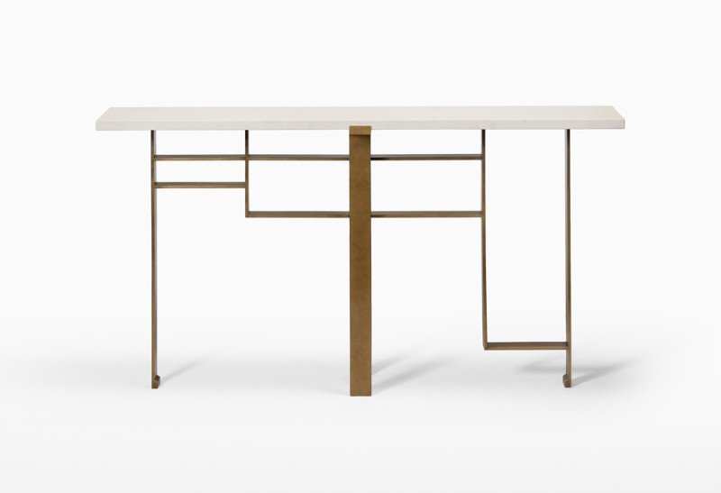 Modern Console Tables By Luxury Brands That Will Be In AD Show 2019 modern console tables Modern Console Tables By Luxury Brands That Will Be In AD Show 2019 CMSTivoliConsole1