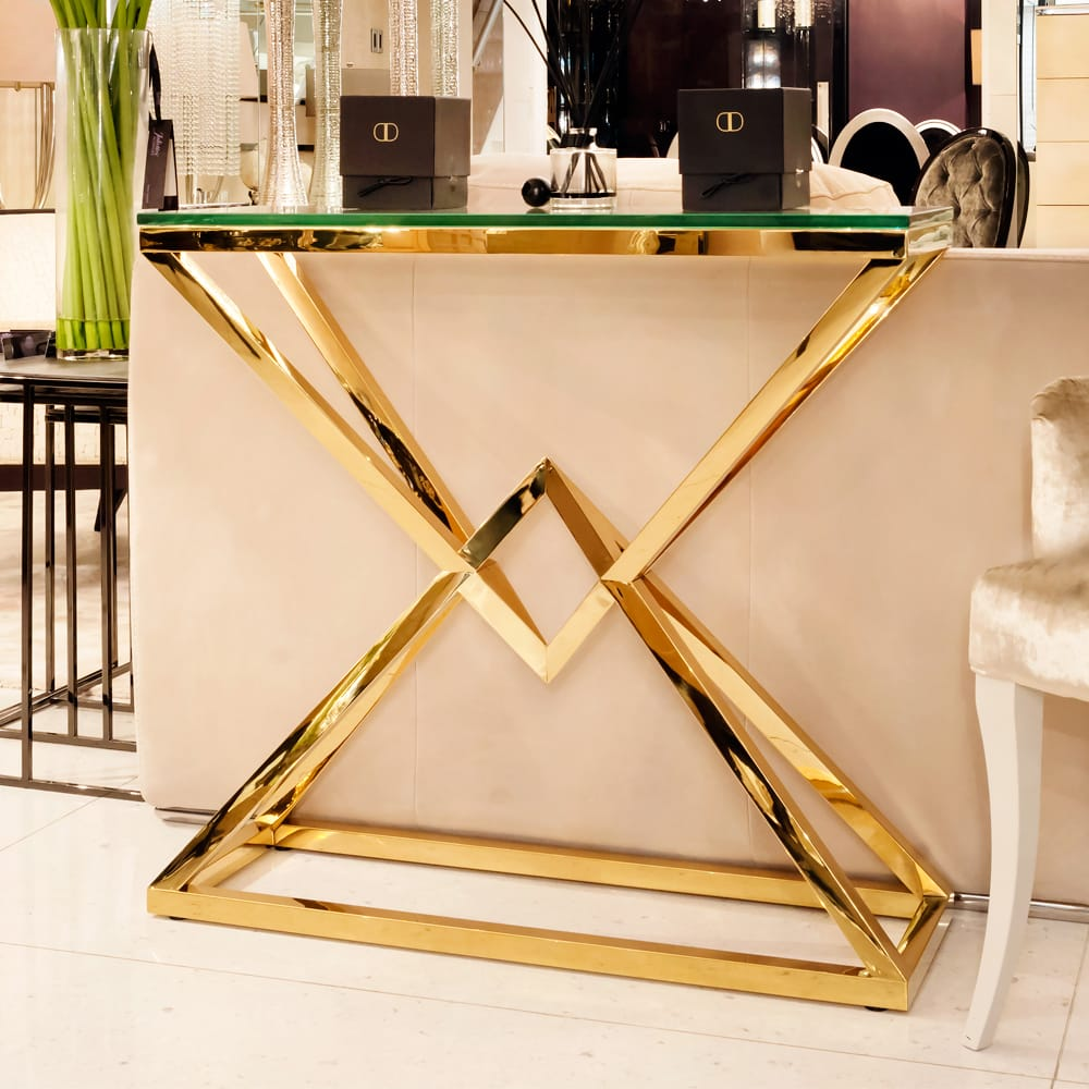 Exclusive High-end Designer Console Tables by Juliettes Interiors High-end Designer Console Tables Exclusive High-end Designer Console Tables by Juliettes Interiors Exclusive High end Designer White Console Tables by Juliettes Interiors 1