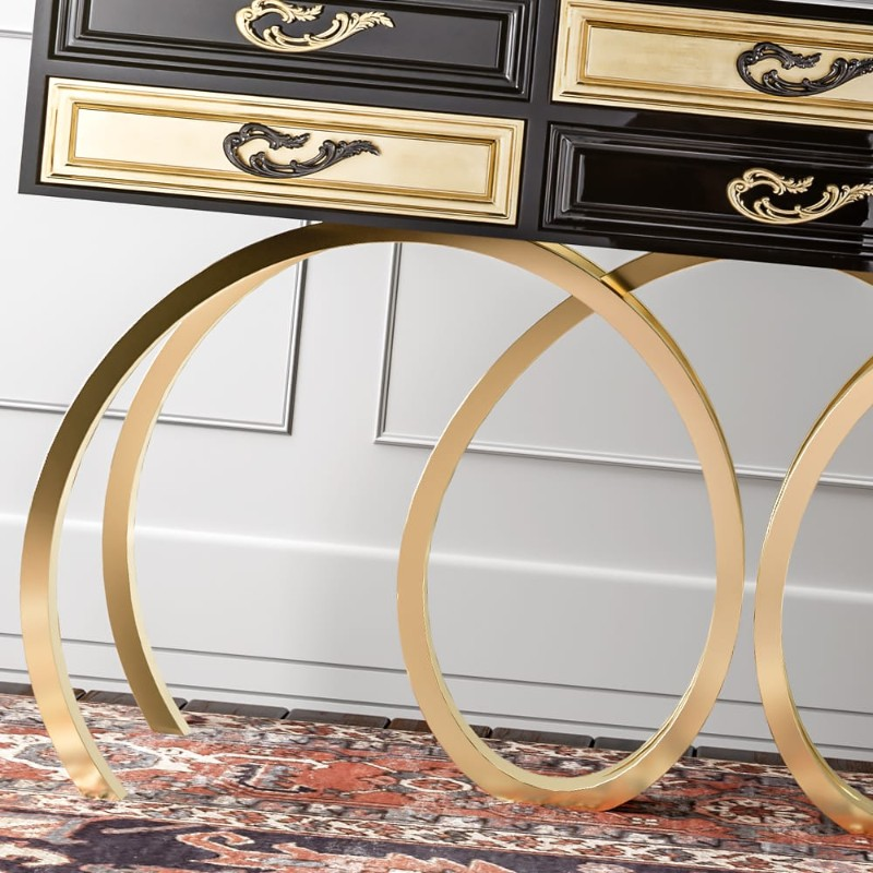 High-end Designer Console Tables Exclusive High-end Designer Console Tables by Juliettes Interiors Exclusive High end Designer White Console Tables by Juliettes Interiors 16