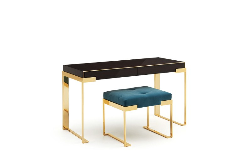 Console Tables By Luxury Brands That Will Be At Salone Del Mobile 2019 console table Console Tables By Luxury Brands That Will Be At Salone Del Mobile 2019 ff aura lady desk with ottoman