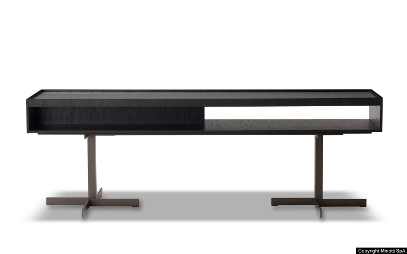 Italian Luxury Brands: Discover Console Tables By Minotti italian luxury brand Italian Luxury Brands: Discover Console Tables By Minotti z close console scont
