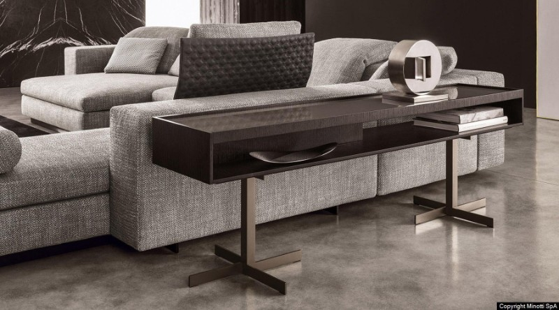 Italian Luxury Brands: Discover Console Tables By Minotti italian luxury brand Italian Luxury Brands: Discover Console Tables By Minotti z close consolle gallery