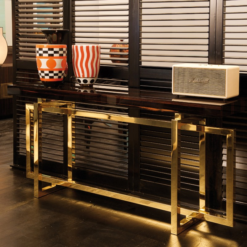 Gold, Modern And Luxury Console Tables console table Gold, Modern And Luxury Console Tables DOMEMI 121 B