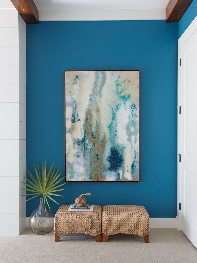 entryway Color Ideas for Your Modern Entryway blue