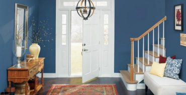 entryway Color Ideas for Your Modern Entryway blue3 370x190