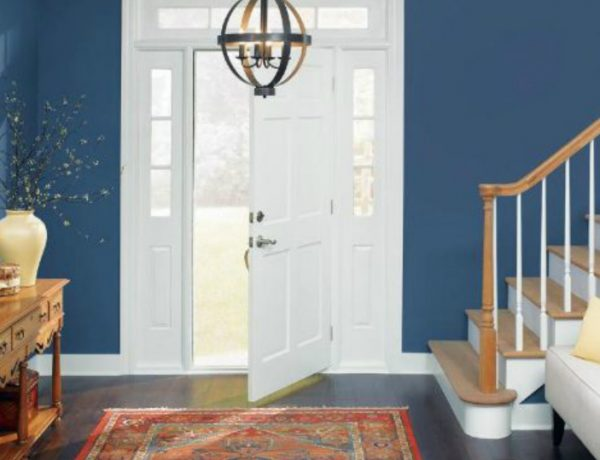 entryway Color Ideas for Your Modern Entryway blue3 600x460 modern console tables Modern Console Tables blue3 600x460