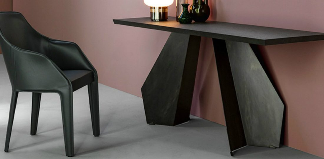 modern console tables Modern Console Tables origami consolle 01 1100x540