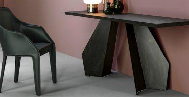 black console tables Black Console Tables that You Will Love origami consolle 01 370x190