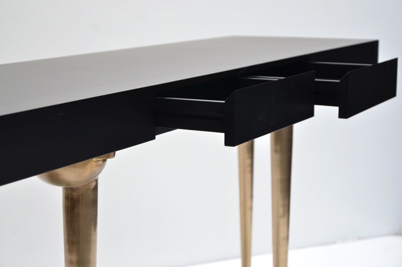 black console tables Black Console Tables that You Will Love scala luxury