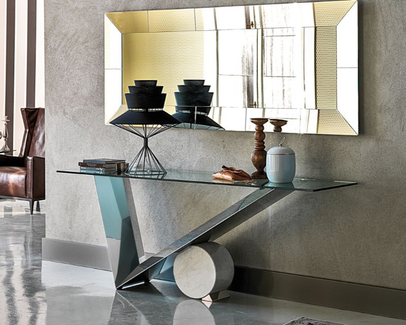 Mirrored Console Table Designs To Inspire You mirrored console table Mirrored Console Table Designs To Inspire You valentinox 01