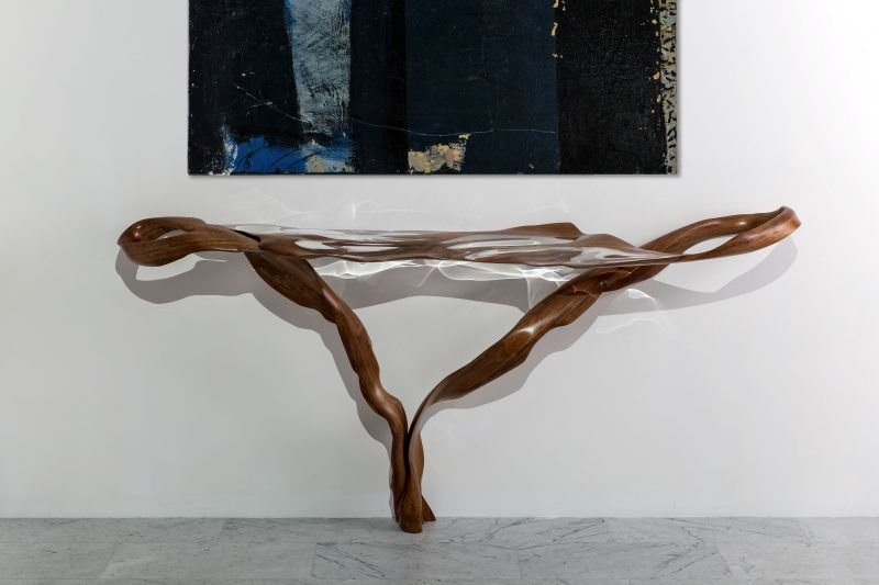 console table console table Console Table Ideas by Todd Merrill Studio Adhesion Console 800x533