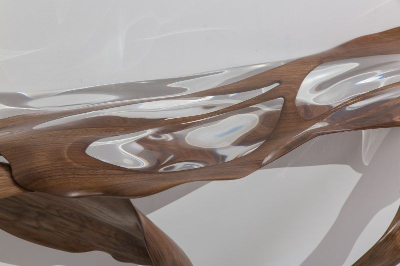 console table Console Table Ideas by Todd Merrill Studio Adhesion console low 3 800x533