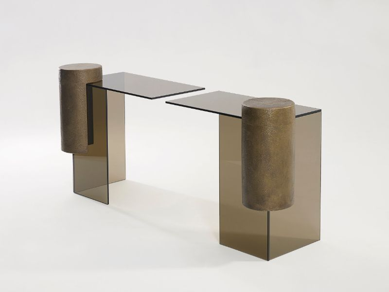 console table console table Creative Console Table Designs that will Amaze You Brian Thoreen