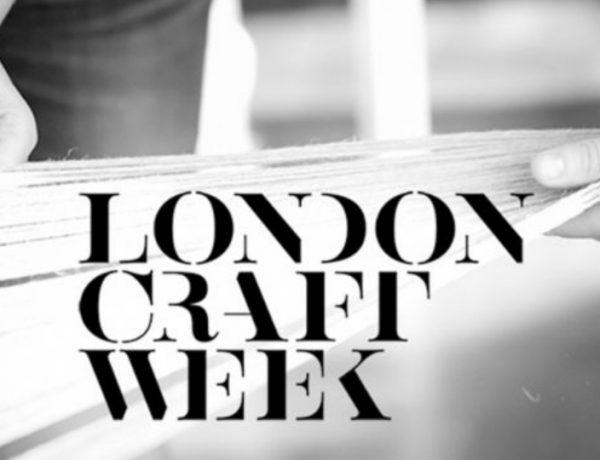 london craft week London Craft Week 2019 – What to Expect LondonCraftWeek     The Wonders of International Craftmanship 600x460