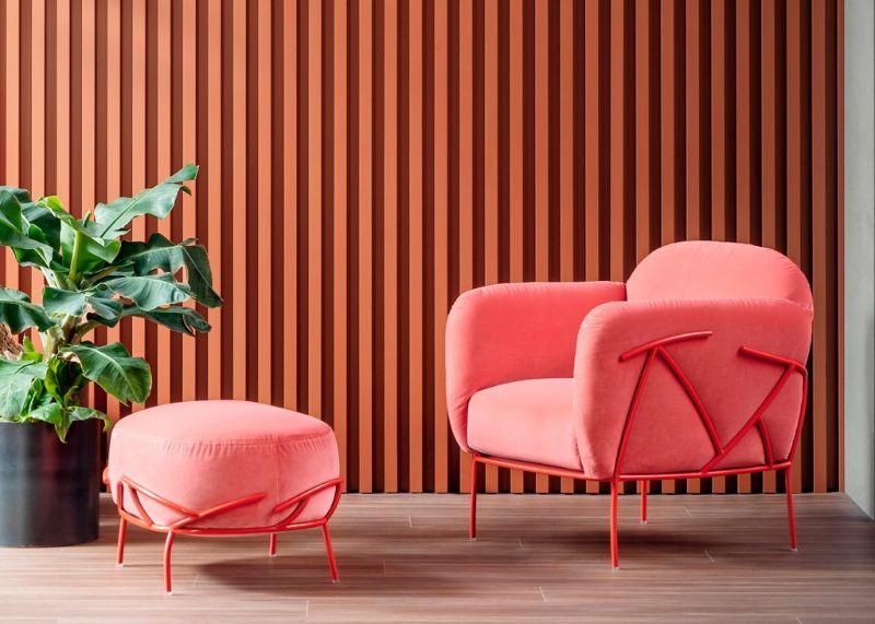 living room furniture living room furniture Trendy Colors for Living Room Furniture bonaldo corallo armchair 1 1 800x571