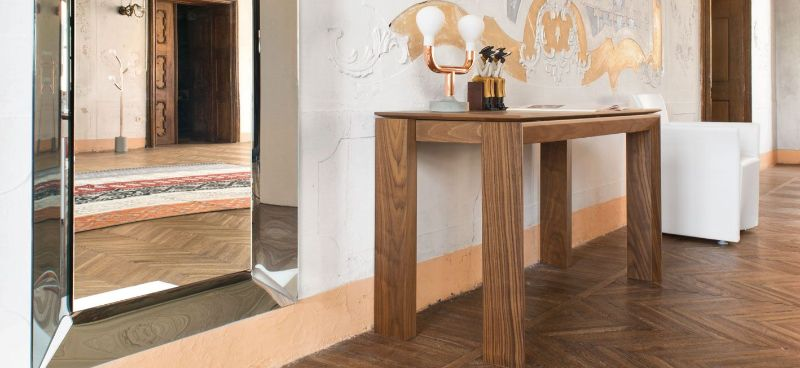 wooden console tables Wooden Console Tables by Top Furniture Designers and Brands calligaris 1