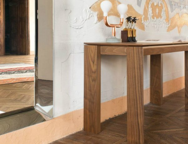 wooden console tables Wooden Console Tables by Top Furniture Designers and Brands calligaris 600x460