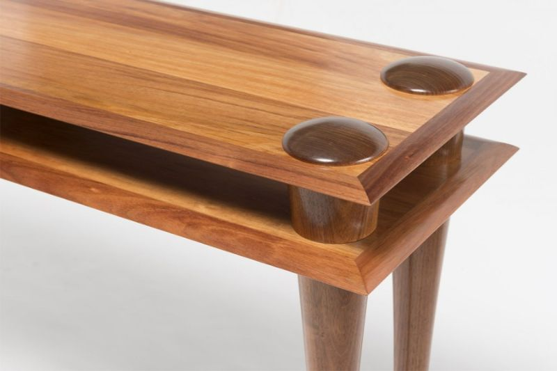 Bungendore Wood Works Gallery - Console Tables By David MacLaren console tables Bungendore Wood Works Gallery – Console Tables By David Mac Laren dsm table w boots 01