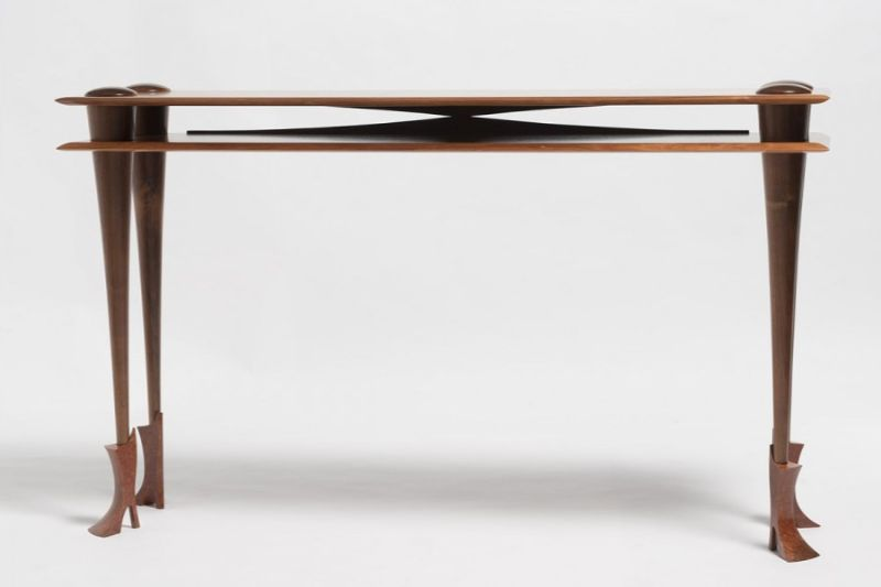 Bungendore Wood Works Gallery - Console Tables By David MacLaren console tables Bungendore Wood Works Gallery – Console Tables By David Mac Laren dsm table w boots 02