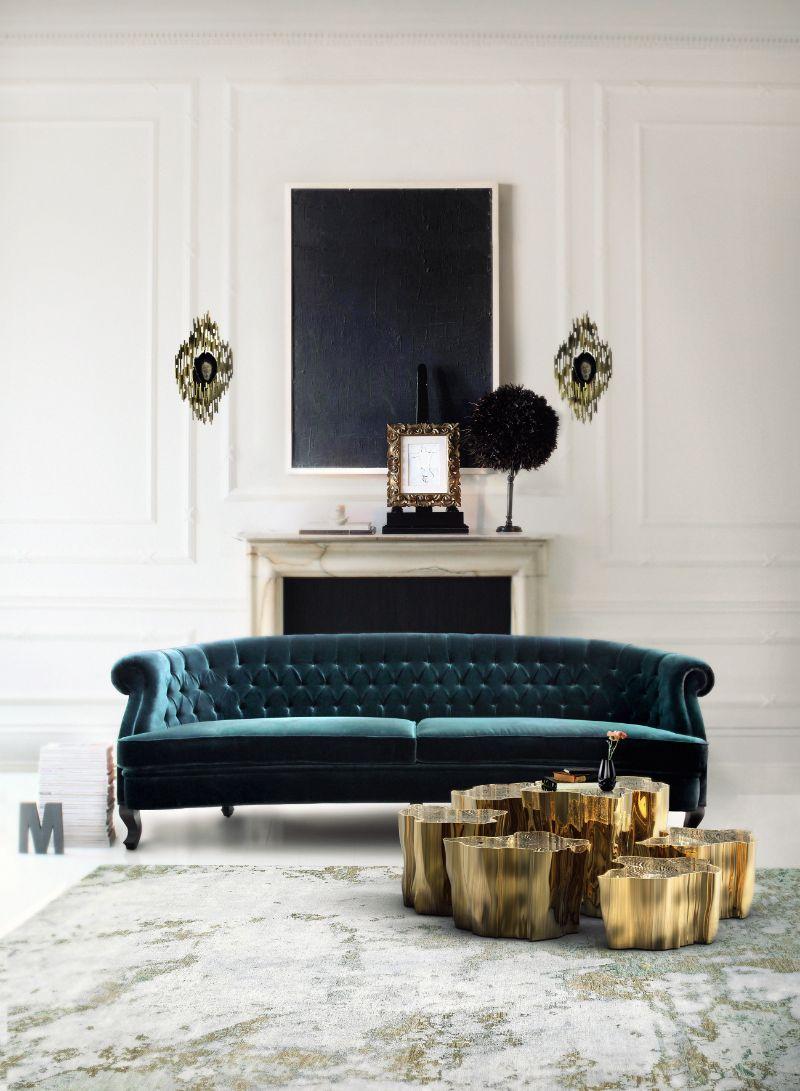 living room furniture Trendy Colors for Living Room Furniture gold 1