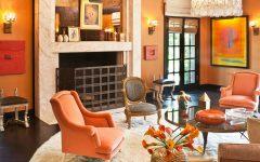 living room design Color Ideas for Your Living Room Design orange2 240x150