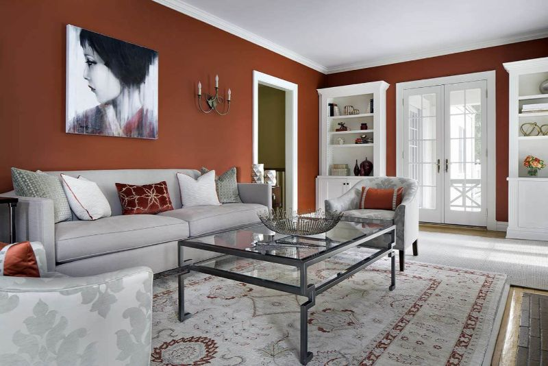 living room design living room design Color Ideas for Your Living Room Design red