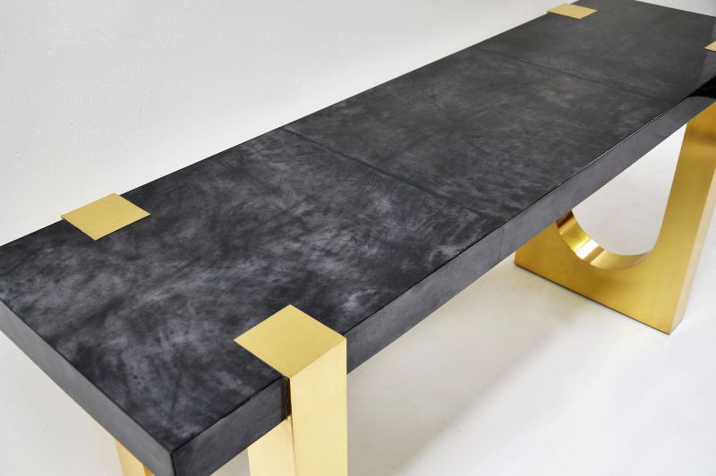 modern console table Modern Console Table Designs to Inspire You scala luxury 2