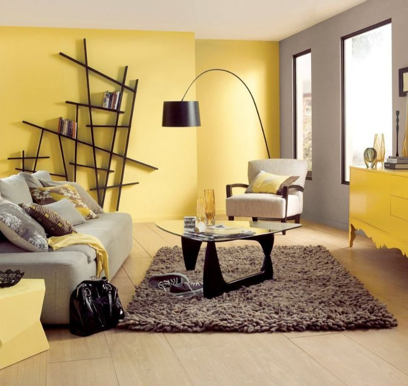 living room design Color Ideas for Your Living Room Design yellow