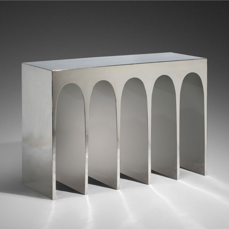 console table Unique Console Table Designs by Herve van der Straeten 166 1 important design including post war contemporary art june 2019 herve van der straeten passage console no 315  wright auction
