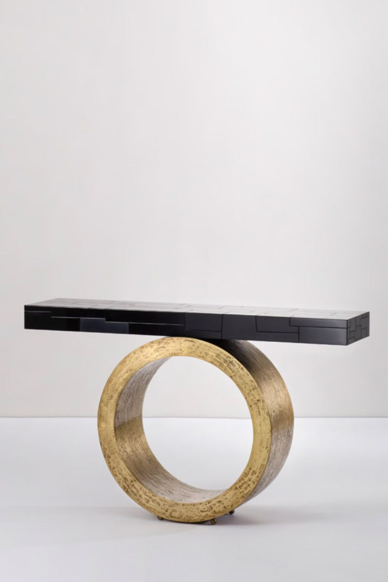 console table Unique Console Table Designs by Herve van der Straeten 4b