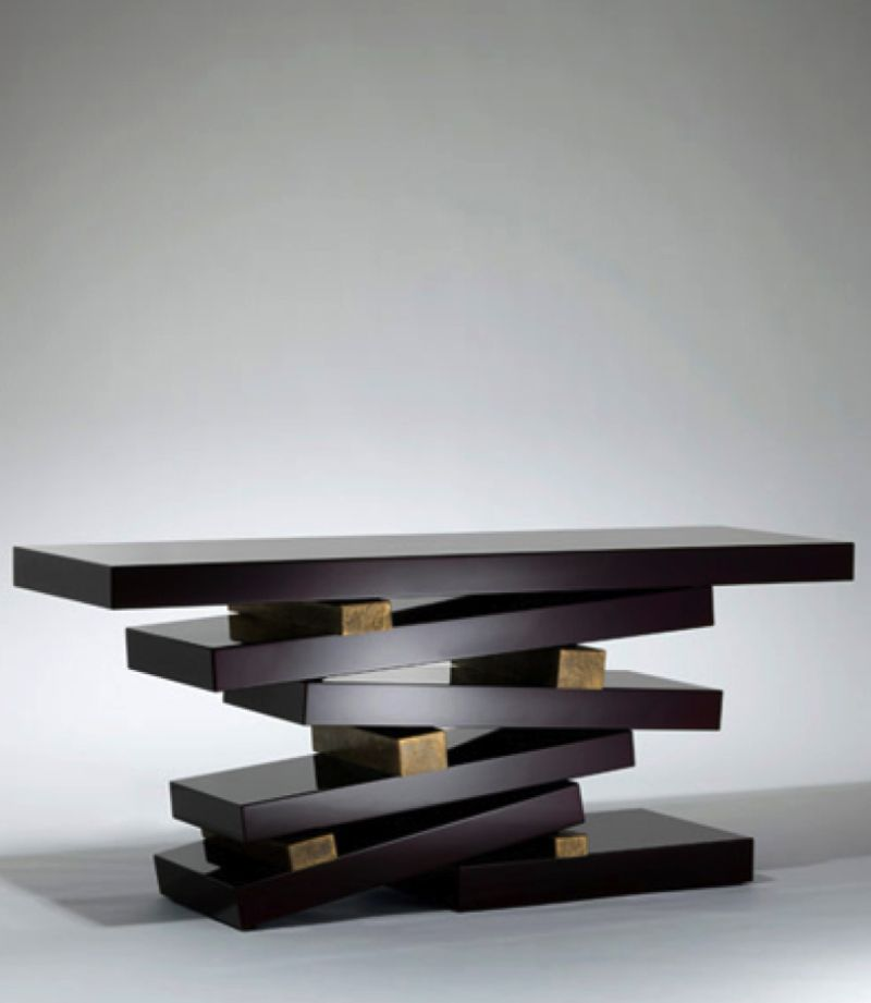 console table Unique Console Table Designs by Herve van der Straeten 523bbb4629d289d4f583f4f0655acfec