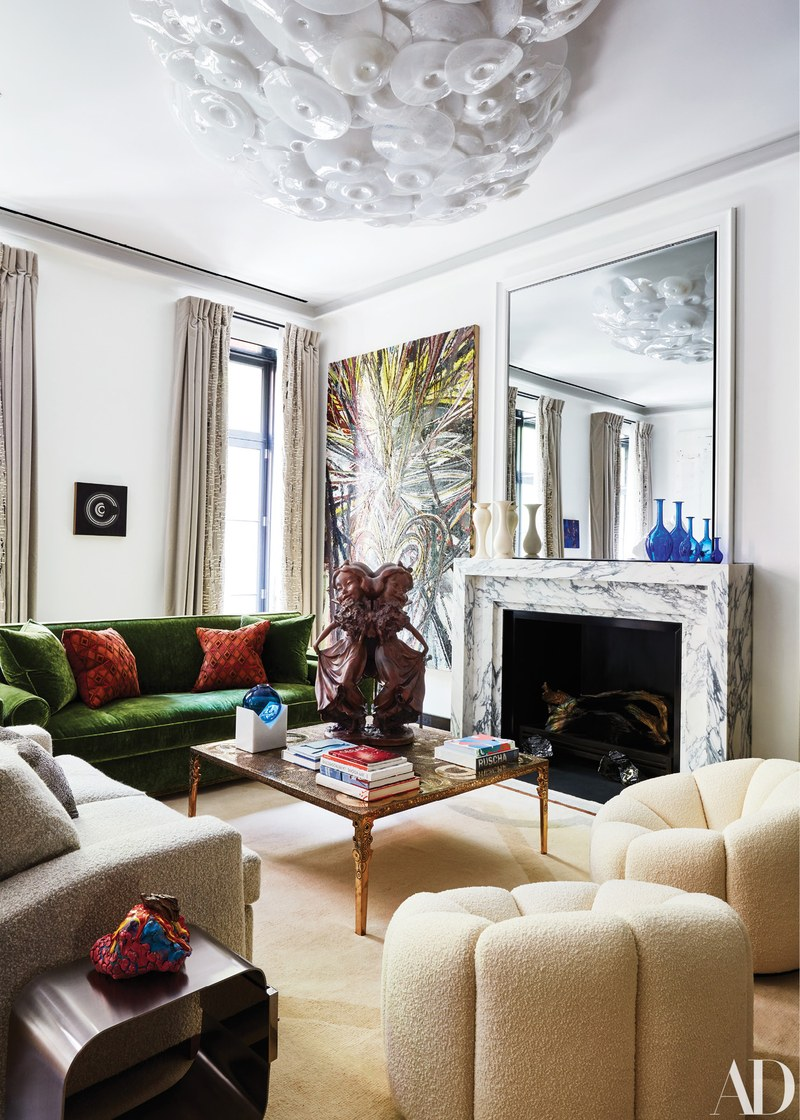 Greenwich Village Townhouse: Art in Paradise by Ingrao art Greenwich Village Townhouse: Art in Paradise by Ingrao AD120118 toc 02 lr 1