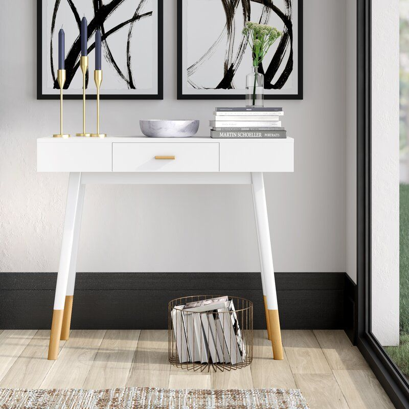 console table Wooden Console Table Designs to Breathe in Nature into the Living Room DaigreConsoleTable