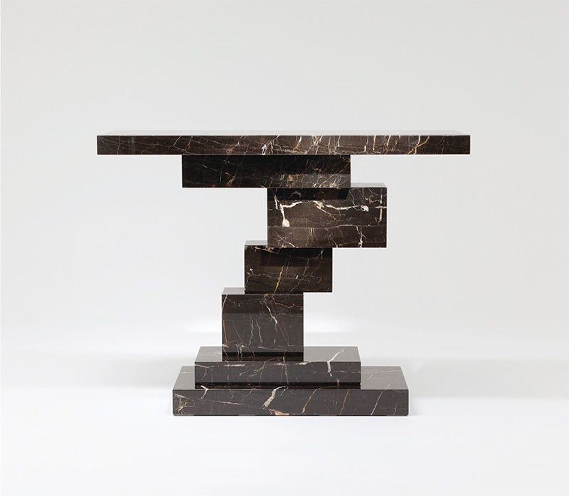 console table Unique Console Table Designs by Herve van der Straeten Flore Gallery Herve Van Der Straeten CONSOLE KASIMIR ST LAURENT