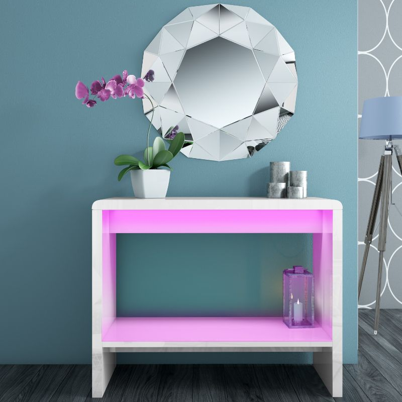 console table Colorful Console Table Designs to Spice Up Your Interior TIFF016 1 Supersize