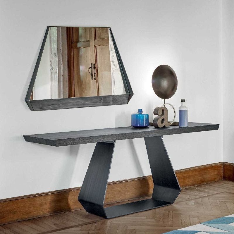 console table Wooden Console Table Designs to Breathe in Nature into the Living Room bonaldo